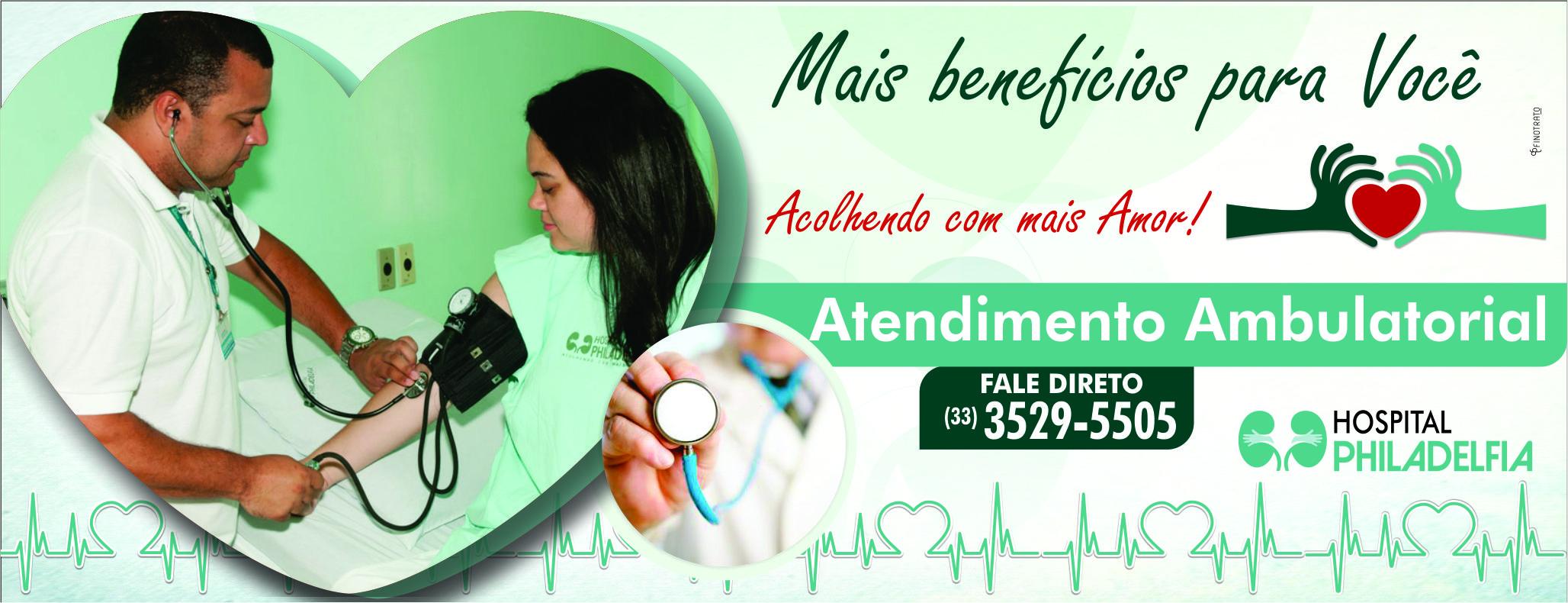 banner site atendimento ambulatorial hospital